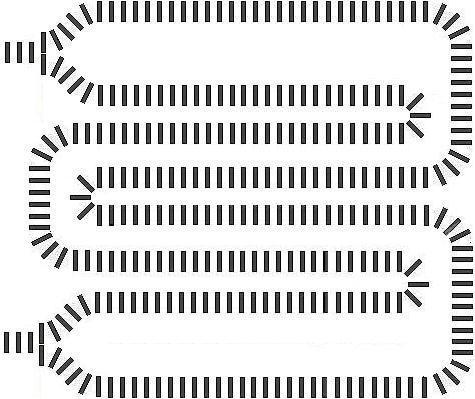Basic Domino Toppling